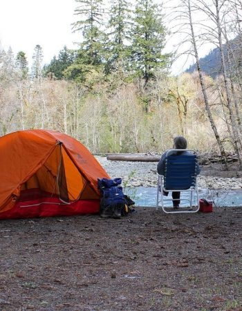 camping, tent, recreation